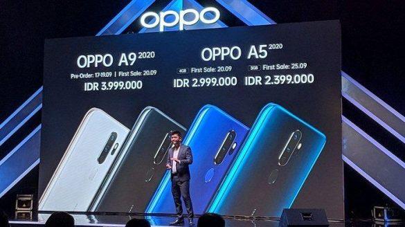 Marketing Planning Manager OPPO Indonesia Suwanto menyampaikan keunggulan perangkat A Series 2020 yang terdiri dari dua seri yakni A9 2020 dan A5 2020.