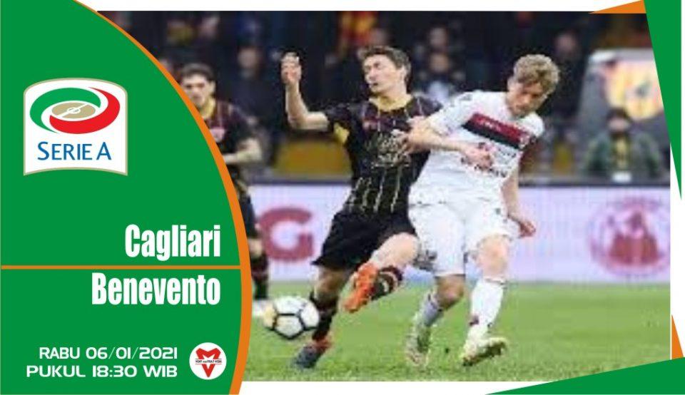 Cagliari akan menjamu Benevento dalam pertandingan Serie A mendatang mereka di The Sardegna Arena pada hari Rabu.