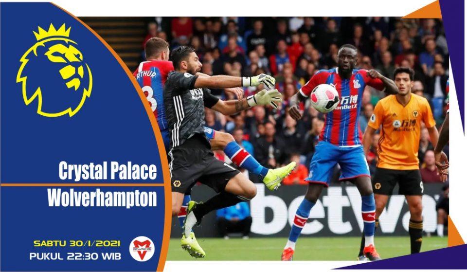Prediksi Pertandingan Liga Inggris: Crystal Palace vs Wolverhampton