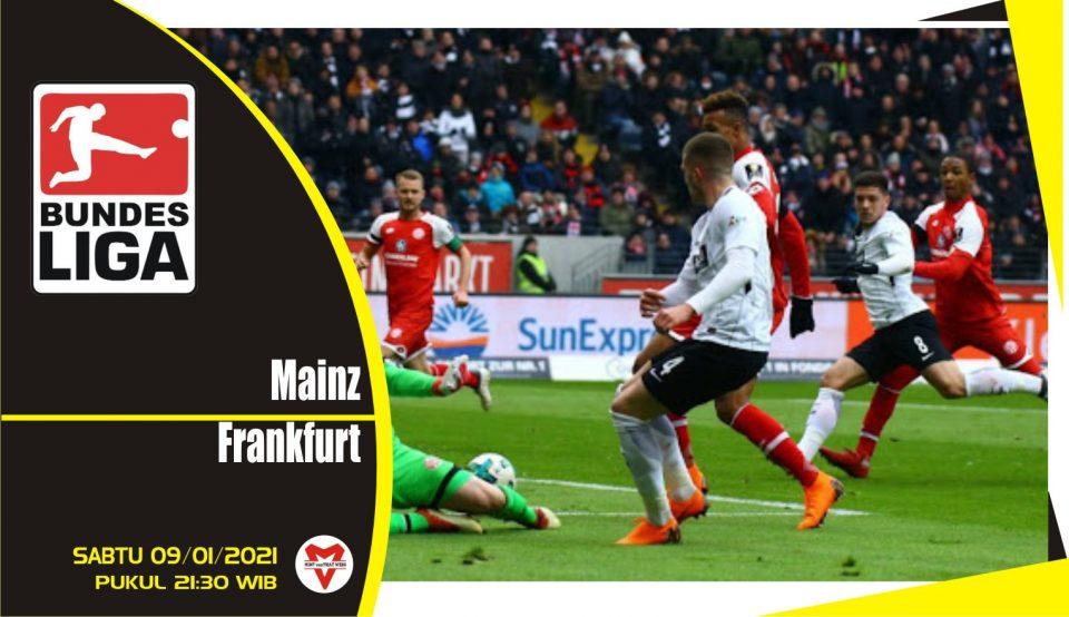 Prediksi Pertandingan Liga Jerman: Mainz 05 vs Eintracht Frankfurt