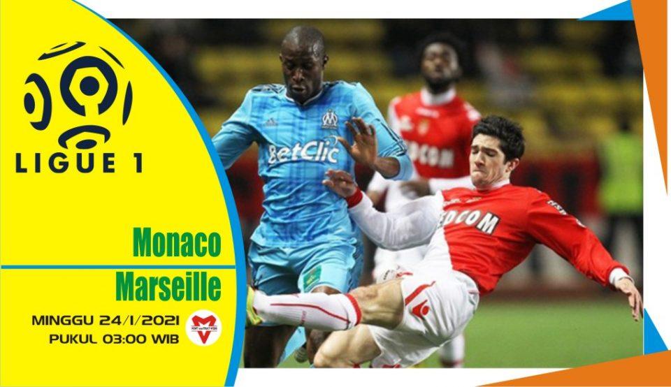 Prediksi Pertandingan Liga Prancis: Monaco vs Marseille