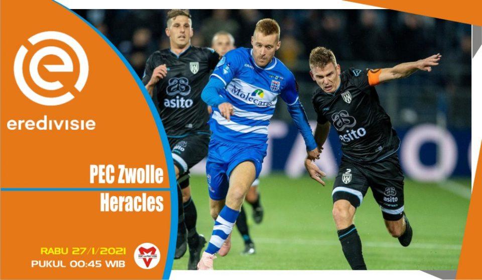 Prediksi Pertandingan Liga Belanda: PEC Zwolle vs Heracles