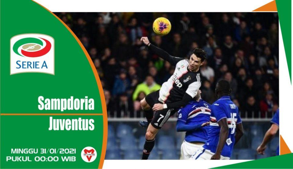 Prediksi Pertandingan Liga Italia: Sampdoria vs Juventus
