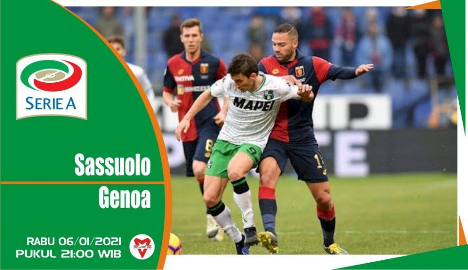 Prediksi Pertandingan Liga Italia: Sassuolo vs Genoa