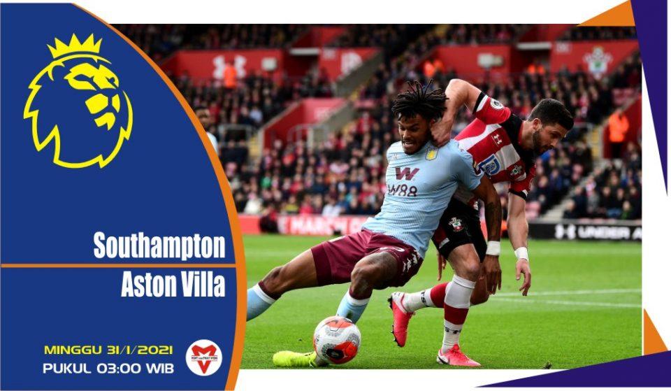 Prediksi Pertandingan Liga Inggris: Southampton vs Aston Villa