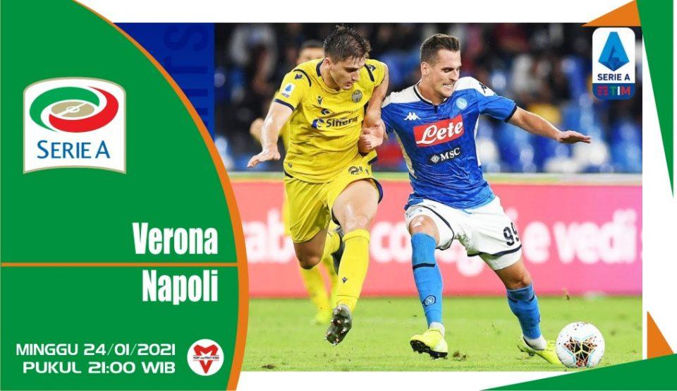 Prediksi Pertandingan Liga Italia: Hellas Verona vs Napoli