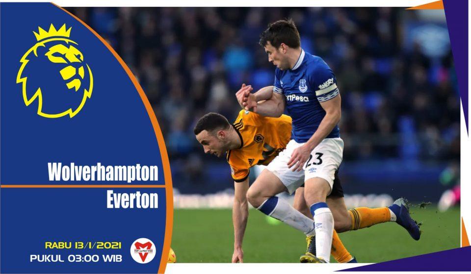 Prediksi Pertandingan Liga Inggris: Wolverhampton Wanderers vs Everton