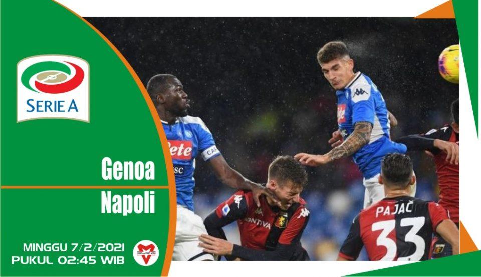 Prediksi Pertandingan Liga Italia : Genoa vs Napoli