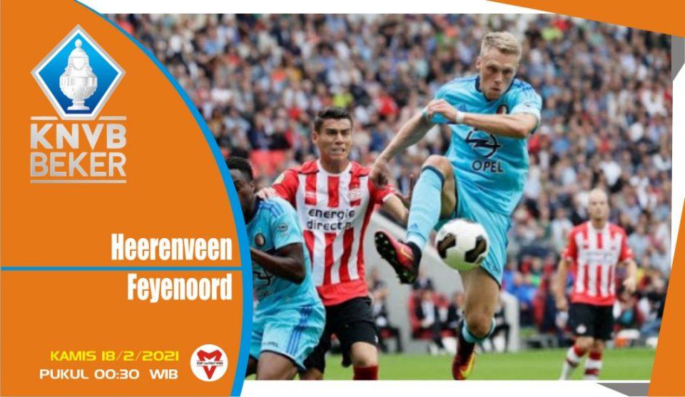 Heerenveen vs Feyenoord