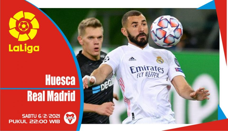 Prediksi Pertandingan Liga Spanyol : Huesca vs Real Madrid