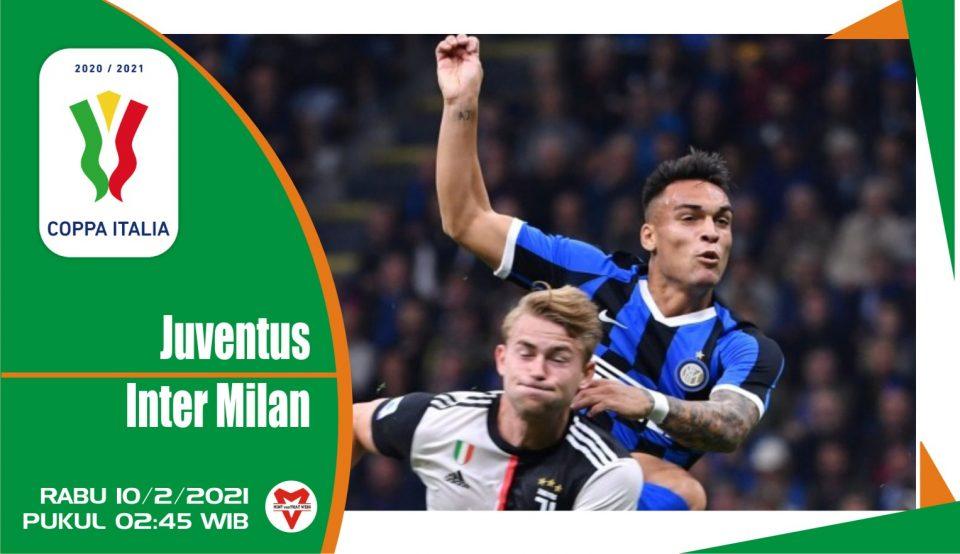 Prediksi Pertandingan Coppa Italia: Juventus vs Inter Milan