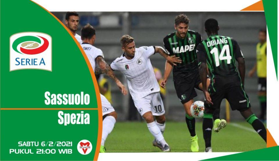 Prediksi Pertandingan Liga Italia : Sassuolo vs Spezia