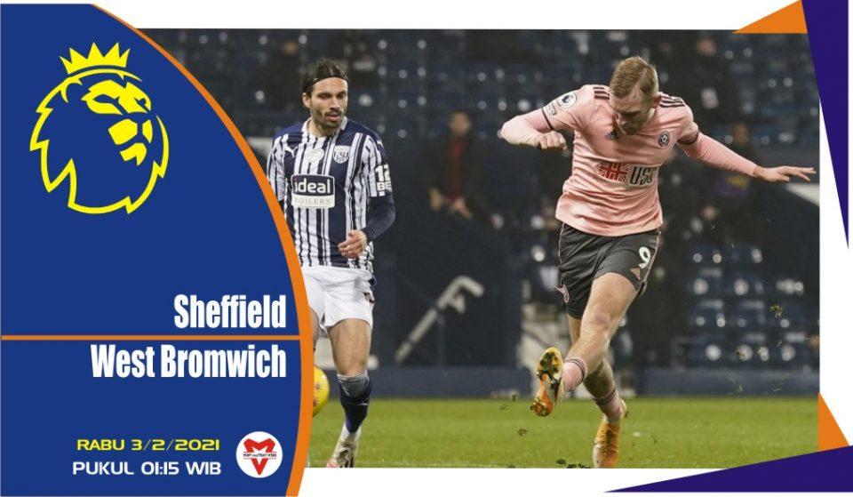 Prediksi Pertandingan Liga Inggris: Sheffield vs West Bromwich