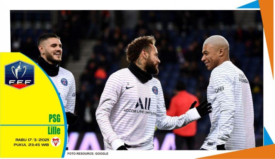 Prediksi Pertandingan Coupe de France: Paris Saint-Germain vs Lille