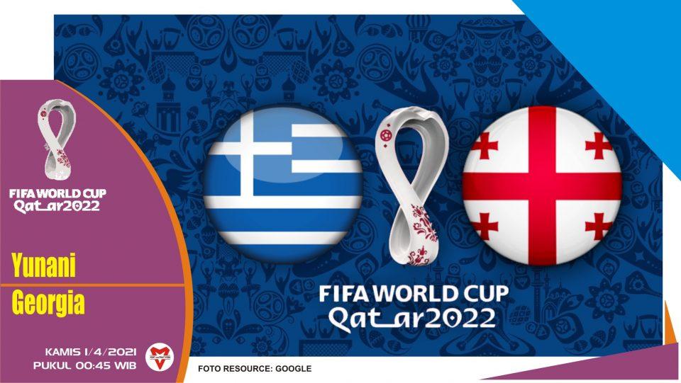 Prediksi Pertandingan Yunani vs Georgia - 1 April 2021