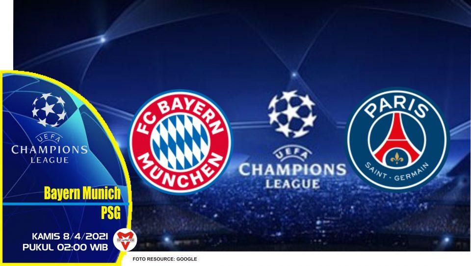 Prediksi Liga Champions: Bayern Munich vs PSG - 8 April 2021