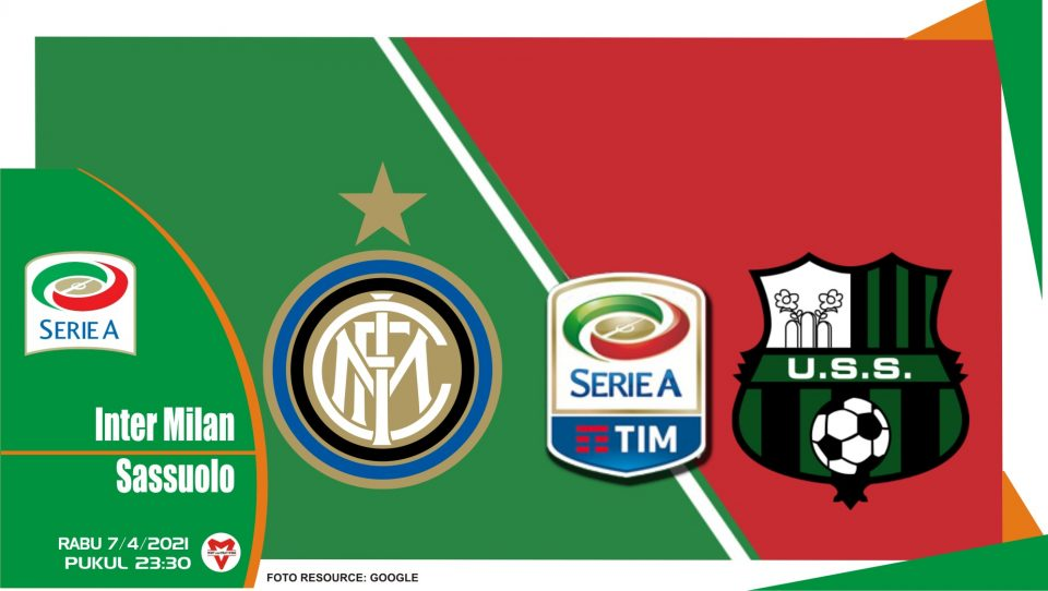 Prediksi Liga Italia: Inter Milan vs Sassuolo - 7 April 2021