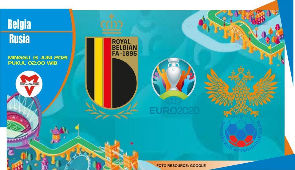 Prediksi Belgia vs Rusia, Laga Piala Eropa 13 Juni 2021