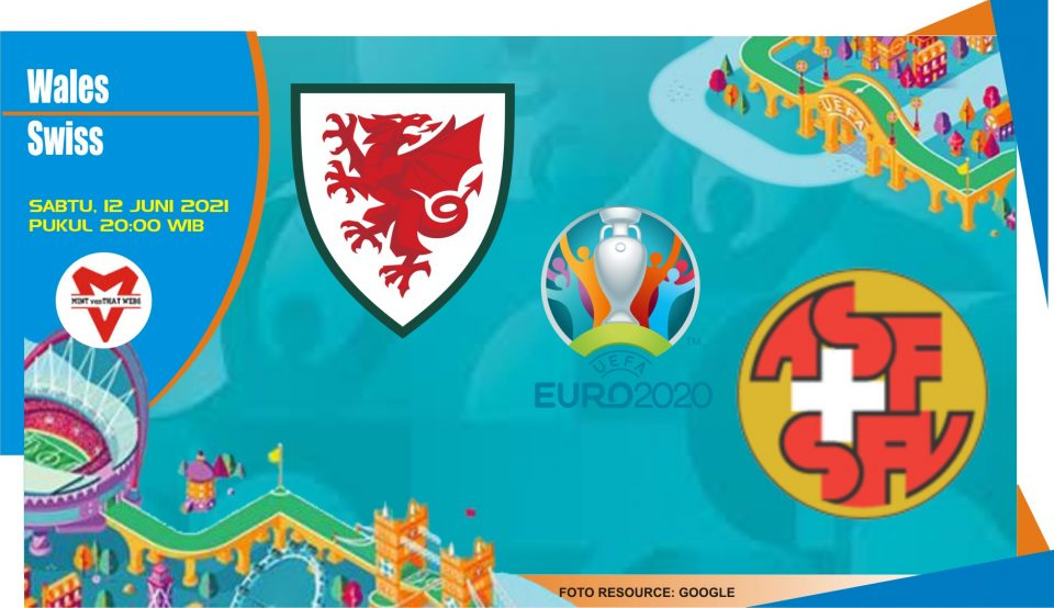 Prediksi Wales vs Swiss, Laga Piala Eropa 12 Juni 2021